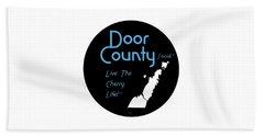 Door County Icon Beach Towel