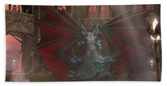 Dragon Steam Bath Beach Sheet