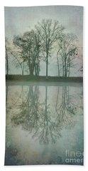Dramatic Reflection Beach Towel