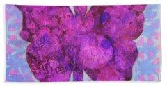 Dream Butterfly Beach Sheet