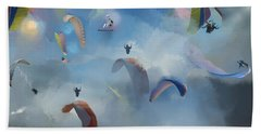 Dream Gliding Beach Towel