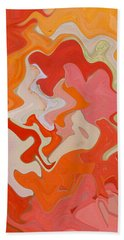 Dream On - Original Abstract Art  Beach Towel