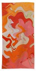 Dream On - Original Abstract Art  Beach Sheet