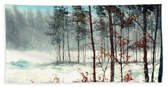 Dreaming Forest Beach Towel