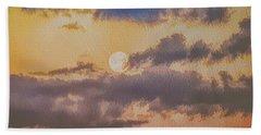 Dreamy Moon Beach Towel