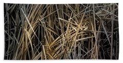 Dried Wild Grass IIi Beach Towel