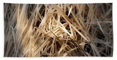 Dried Wild Grass I Beach Towel