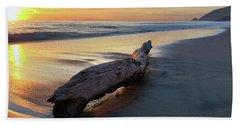 Drift Wood At Sunset II Beach Sheet