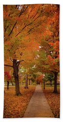 Drury Autumn Beach Towel