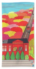Duquesne Incline Beach Towel