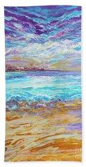 Dusk At The Beach Beach Towel
