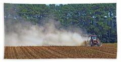 Dust Farming Beach Towel