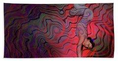 Dynamic Color2 Beach Towel