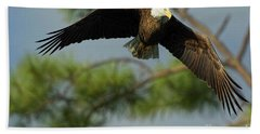 Eagle Flight 1 Beach Towel