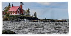 Eagle Harbor Lighthouse Beach Towel