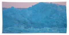 Eagle On Ice Mackinaw City 2261803 Beach Sheet