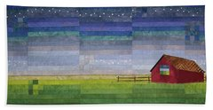 Early Morning Nine Patch Beach Towel
