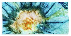 Eco Dyed Cosmos Beach Towel