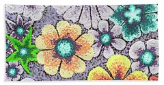 Efflorescent 11 Beach Towel