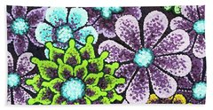 Efflorescent 12 Beach Towel