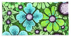 Efflorescent 9 Beach Towel