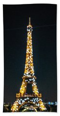 Beach Towel featuring the photograph Eiffel Tower by Randy Scherkenbach