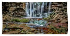 Elakala Falls 1020 Beach Towel
