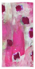 Elated- Abstract Art By Linda Woods Beach Towel