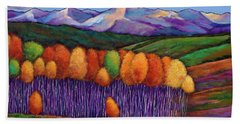 Fall Colors Beach Towels