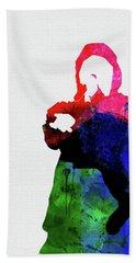 Eminem Watercolor Beach Towel