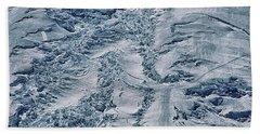 Emmons Glacier On Mount Rainier Beach Towel