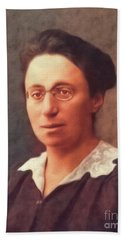 Emmy Noether, Famous Mathamatician Beach Towel