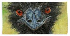 Australian Wildlife Paintings Beach Towels