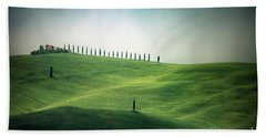 Endless Hills Beach Towel