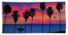 Beach Towel featuring the photograph Endless Summer by John Rodrigues