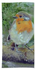 English Robin Beach Towel