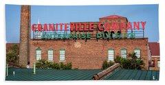 Enterprise Mill - Graniteville Company - Augusta Ga 2 Beach Towel