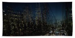 Escape From New York Beach Towel