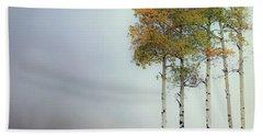 Ethereal Autumn Beach Towel