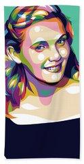 Eva Marie Saint Beach Towel