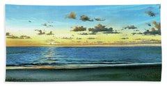 Evening Light  Beach Sheet