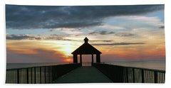 Beach Towel featuring the photograph Evening Peace by Rosanne Licciardi