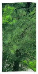Ever Green Beach Towel