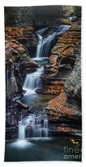 Every Teardrop Is A Waterfall Beach Towel