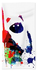 Ewok Cartoon Watercolor Beach Towel