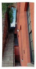 Exorcist Stairs Beauty Beach Sheet