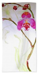 Exotic Dancer Beach Towel