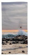 Explosive Sea 1 Beach Towel