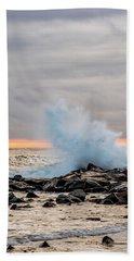 Explosive Sea 3 Beach Towel