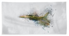 F16 Fighting Falcon Beach Sheet